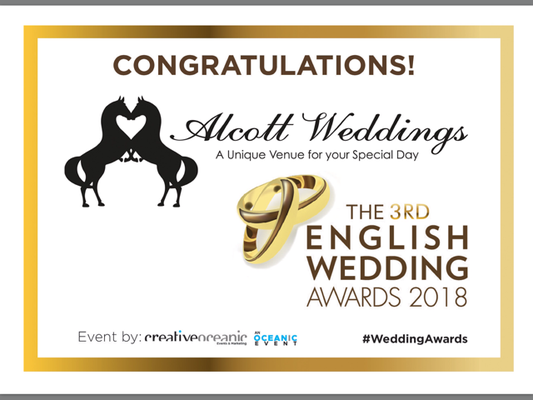 The English Wedding Awards Finalist