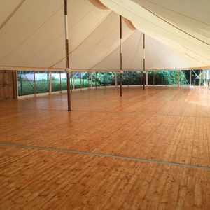 Canvas Marquee Tongue & Groove Floor.