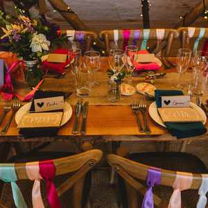 Tipi table and chairs