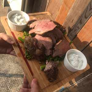 Lamb sharing board wedding & events catering