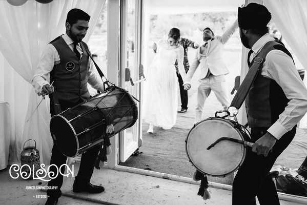 Outdoor Marquee Wedding  Asian Music