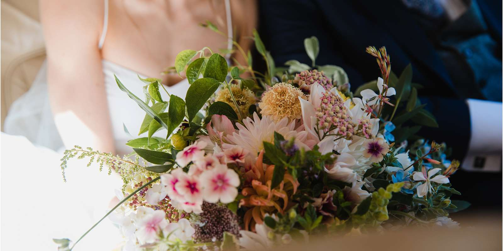 Mid summer bride's bouquet