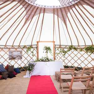Ceremony in a Yurt