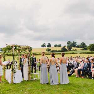 The stunning views of Alcott for a ceremony